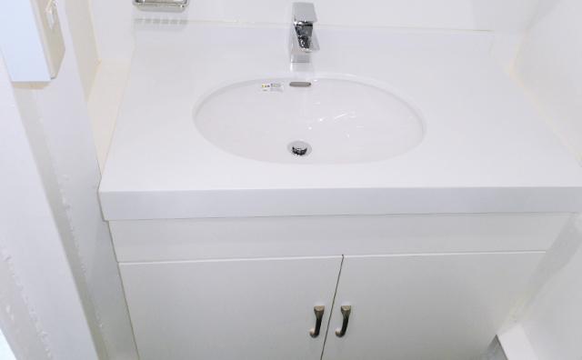 洗面台の入れ替え